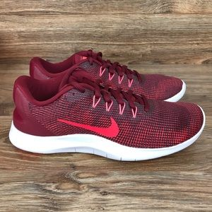New Nike Flex 2018 RN 'Red Flash Crimson' Size 9
